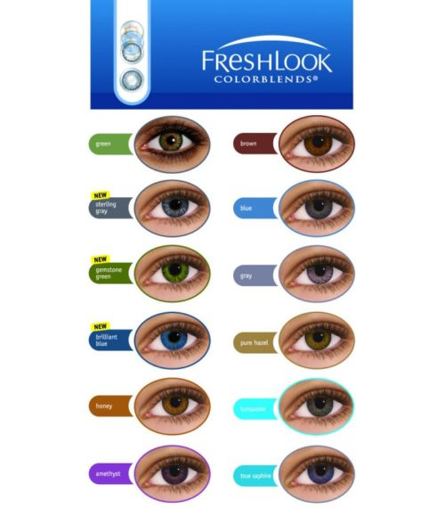 Freshlook Colorblends - Alcon-503
