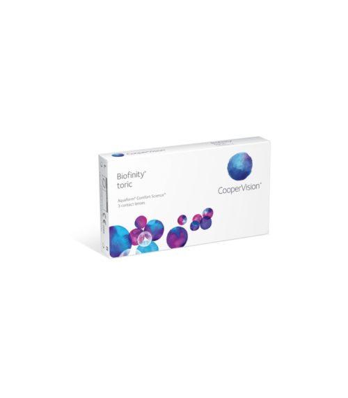 Biofinity Toric Kontaktne leće originalne CooperVision kvalitete. Kupi odmah!