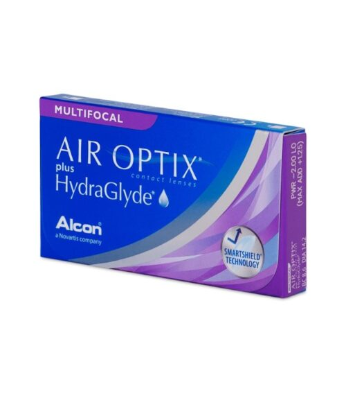 Air Optix Hydraglyde Multifocal Kontaktne Leće 3 Leće
