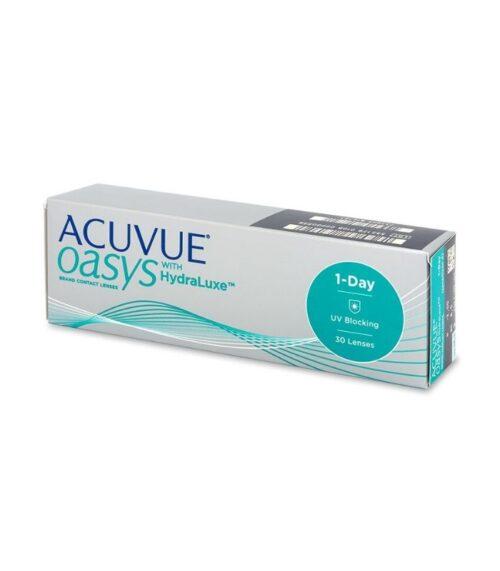 ACUVUE® OASYS 1-Day s tehnologijom HydraLuxe; Kontaktne leće