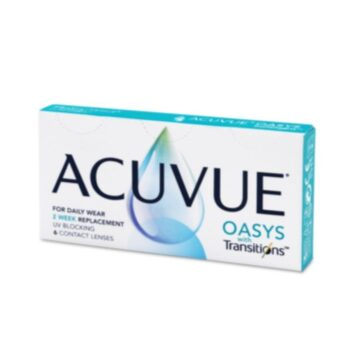 ACUVUE ® OASYS with Transitions Kontaktne leće