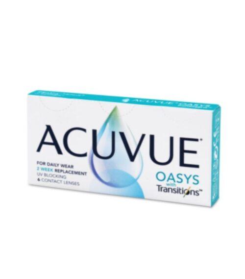 ACUVUE ® OASYS with Transitions Kontaktne leće
