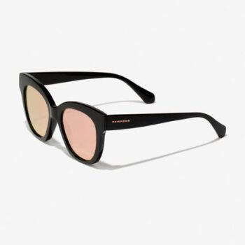 Hawkers, Black - Rose Gold Audrey